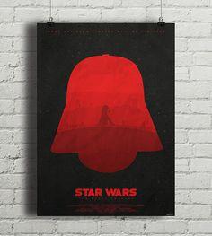 """Plakat z autorską grafiką inspirowaną filmem """"Gwiezdne Wojny: Przebudzenie Mocy"""" (Star Wars: The Force Awakens), reż. J.J.Abrams. Idealnie komponuje się z plakatem """"Light"""" przedstawiającym jasną stronę Mocy.  Drukowany za pomocą ekologicznych, bezwonnych tuszy pigmentowych EPSON Ul ... Star Wars Dark, Disney Characters, Fictional Characters, Aurora Sleeping Beauty, Stars, Disney Princess, Cover, Movie Posters, Design"""