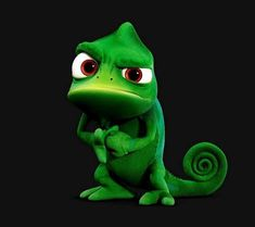 My favorite Disney character must be no other than Pascal from Tangled. What's not to love about this little feller? He's cute, loyal, serious, funny and I love how Disney had brought him to life with mimic and his facial emotion Disney Magic, Disney Art, Disney Movies, Cute Disney Characters, Disney Rapunzel, Disney Pocahontas, Tangled Rapunzel, Disney Princess, Disney E Dreamworks