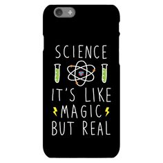 Science It's Like Magic But Real - Show off your love of science with this hand-drawn, magic humor, scientific phone case! Let the world know that you are a true science believer with this cute design!