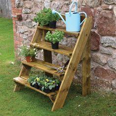 Wooden Garden Plant Ladder by Grange | Internet Gardener