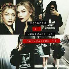 T1 Contrast +6 Saturation -2