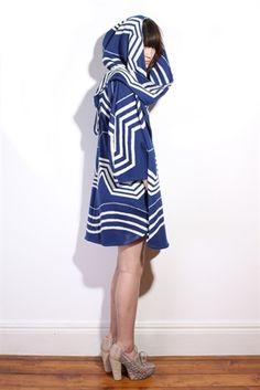 Ivana Helsinki Knitted Sailor Coat - Ivana Helsinki - Clothing coats jackets knitwear - Designer Clothing ($200-500) - Svpply