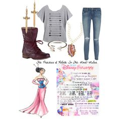"""""""The Princess I Relate To The Most-Mulan"""" by fullmetal-heart on Polyvore"""