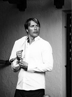 Mads Mikkelson--such an interesting face.