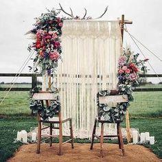 Wedding Destination, Boho Wedding, Rustic Wedding, Wedding Ideas, Trendy Wedding, Wedding Wall, Dream Wedding, Outdoor Wedding Isle, Perfect Wedding
