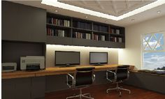 Study cabinetry