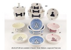 Petware Pottery Dog Bowls 2 Series. Proudly Hand Made in The USA! Made from lead-free slips and glazes. Dishwasher and microwave safe. 100% satisfaction guaranteed!