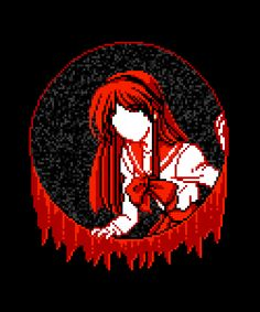 vgjunk: In the shop today - faceless anime girls tearing their way into our dimension in search of fresh eyeballs. Anime Pixel Art, Anime Art, Vaporwave Anime, 8bit Art, Goth Art, Aesthetic Gif, Creepy Cute, Animes Wallpapers, Gravity Falls