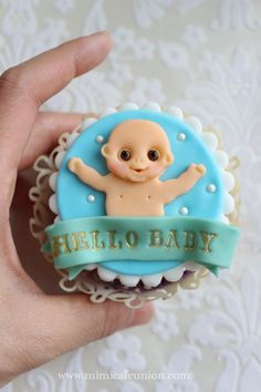 Hello Baby Cupcakes by mimicafe Union