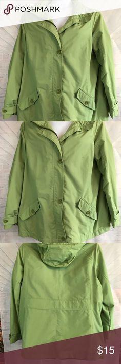 b8f4b7c8bff Lands  End Women Plus Size 2X Rain Jacket coat New without tags. Lands