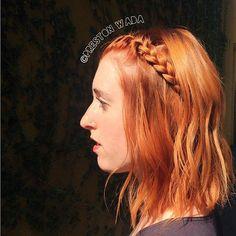 @prestonwada #avedacolor ☀summer copper || #nofilter || || #redhair || #copperhair || #establishmentLA || #losangeles