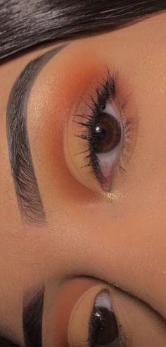 Eye Makeup Steps, Makeup Eye Looks, Eye Makeup Art, Cute Makeup, Glam Makeup, Pretty Makeup, Skin Makeup, Eyeshadow Makeup, Easy Makeup