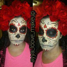 sugarskull makeup sugarskullgirl  catrina dia de los muertos halloween makeup