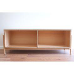 Meuble média ARTURO - hêtre - Ars fabricandi - DesignerBox Home Interior, Decoration, Credenza, Bookcase, Diy, Shelves, Craft Ideas, Cabinet, Storage