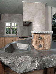 + #kitchen #concrete #stone | Dirk Cousaert