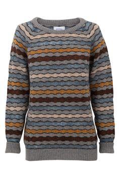 3. Wool Week Jumper: Shetland & Mohair Wave Knit Jumper coming soon | Brora #WinInTheWoolWeekCompetition