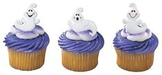 Friendly Halloween Ghosts Cupcake Rings  24 pcs by Bakery Supplies -- Be sure to check out this awesome product.(This is an Amazon affiliate link and I receive a commission for the sales)
