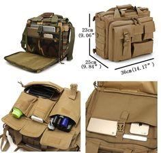 Complementos de moda para hombres en oferta con buenos descuentos. Bolsos, mochilas militares, bandoleras y maletines para llevar ordenador portátil, tablets, iPad, Samsung.