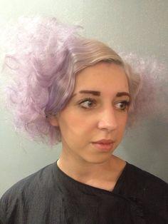 Aventgarde hair pastel colour creative hair saks aberdeen
