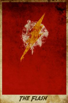 The Flash retro poster minimalist poster movie print The Flash art poster print 11x17. $19.00, via Etsy.