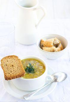 Receta 125: Sopa de puerros y patatas » 1080 Fotos de cocina