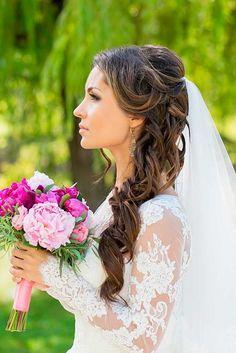 bridal veil hairstyles 4