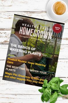 Get the June issue of the Healthy Fresh Homegrown Magazine,the magazine for families growing food at home. Filled with useful tips on watering your plants! #wateringplants #gardenmagazine Planting Vegetables, Growing Vegetables, Vegetable Garden, Gardening Books, Container Gardening, Fresh Tomato Soup, Watering Plants, Backyard Layout, Grow Your Own Food
