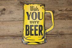 Painel Wish You Were Beer | A Loja do Gato Preto | #alojadogatopreto | #shoponline | referência 74066932