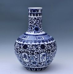 hand-painted blue white Jingdezhen ceramic