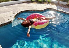 endless summer pool days | better with a donut float!