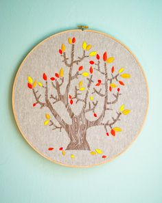 New! 4 Seasons of Embroidery from Purl Soho + Egg Press - Knitting Crochet Sewing Crafts Patterns and Ideas! - the purl bee