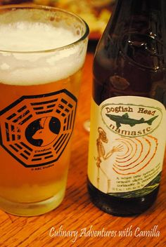 Culinary Adventures with Camilla: Dogfish Head's Namaste {#beer tasting}