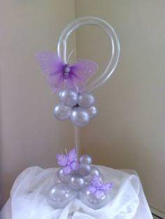 'Butterfly dream' - Birthday Balloon Centerpiece by Rosanna Cedeno CBA