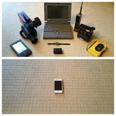 Como han cambiado las cosas entre 1993 y 2013!!!