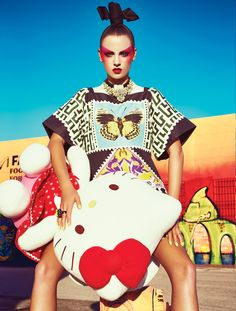 From the April issue: We take Spring 2013's Asian-inspired trend to the Miami streets in this colourful photo shoot | Fashion | FASHION Magazine |