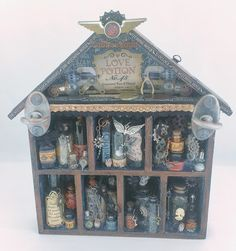 starrgazer creates: Steampunk Spells Love Potion Apothecary