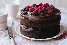 Livias Kitchen Vegan Almond Chocolate Cake Recipe
