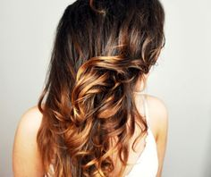 so i didn't want to jump on the ombré band wagon, but i really think this would look bangin on me! ha.