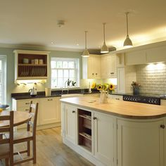 A beautiful painted kitchen by Intone Designs