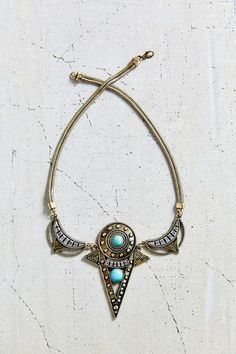 Triangle Passageway Necklace - Urban Outfitters