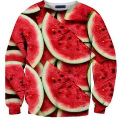 Sweatshirts - Watermelon Sweater We're not sure what's better. the thought of a juicy slice of watermelon right now or the eye-popping red of this sweater. Either way, this melon's flesh has got us craving some sweet red. Anti Bloating, Bloating Remedies, Stomach Bloating, Prevent Bloating, Sweet Watermelon, Watermelon Slices, Watermelon Tree, Watermelon Benefits, Watermelon Salad
