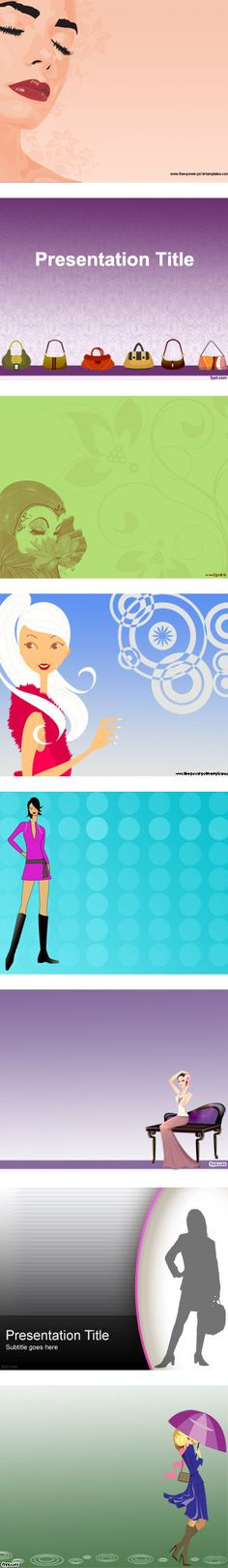 """Fashion Backgrounds for PowerPoint Presentation Templates"" by fppt-templates-powerpoint on Polyvore"