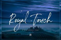 Royal Touch Font by Ivan Rosenberg on @creativemarket