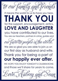 Custom Printable Wedding Thank You Card by StaceCadetDesigns, $15.00