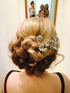 July Wedding, Wedding 2015, Wedding Hairstyles, Crown, Fashion, Corona, Moda, La Mode, Wedding Hair Half
