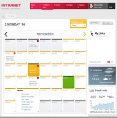 Employee Intranet Portal