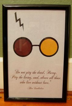 AUGUST SALE // Harry Potter inspired love Movie Quote Print 11X17 on Etsy, $10.00