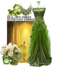 Princess and the Frog - Can be used for the Maides or for your Reception Dress!