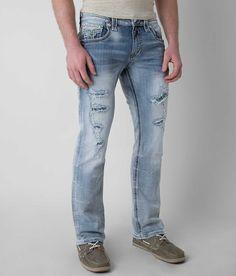 Rock Revival Tom Straight Jean - Men's Jeans   Buckle