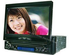 7 inch Motorized In Dash Car DVD Player